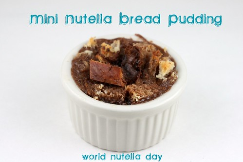 Nutella Bread Pudding for World Nutella Day (2/5/2010)
