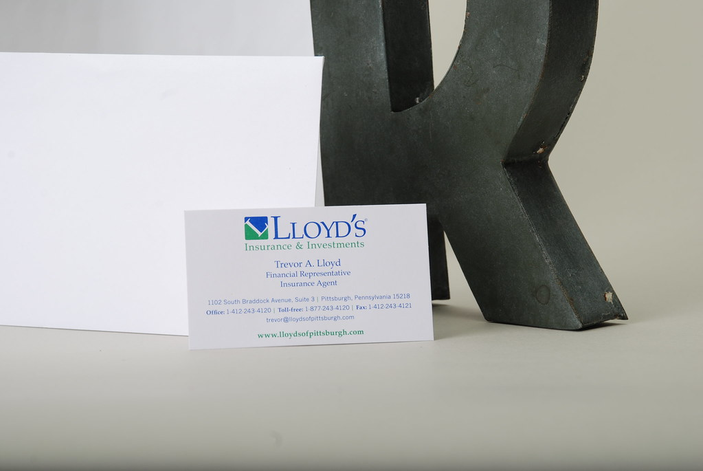Lloyd's Insurance and Investments Identity Package