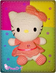 ♥Hello Kitty Amigurumi♥ (PrenD-T♥) Tags: hello cute cat sweet handmade hellokitty crochet kitty kawaii amigurumi gatita tierno hechoamano amigurumis prendt