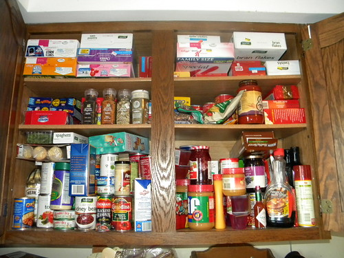 Kitchen Cupboard - Before