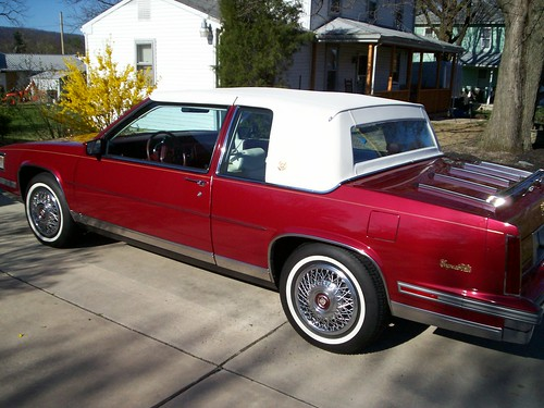 FOR SALE: 1988 Cadillac Liberty Edition Coupe Deville - 55,000 ...
