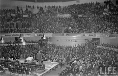 el glorioso Teatro Caupolican de Santiago 1950