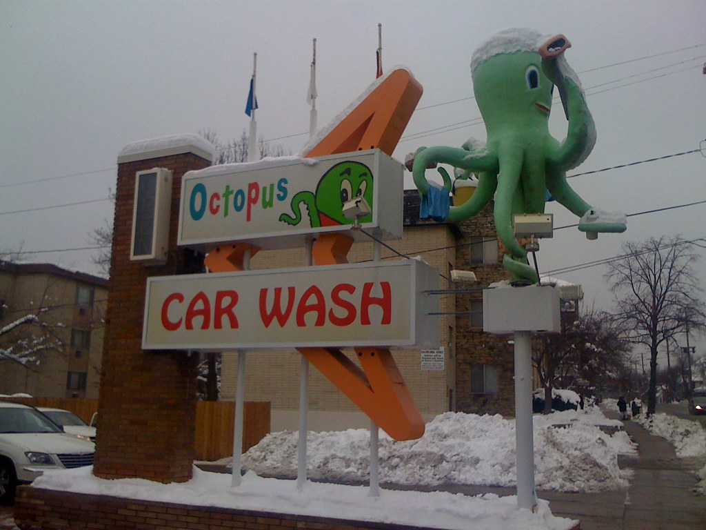 Octopus Car Wash Madison: On The Road: Madison, Wisconsin