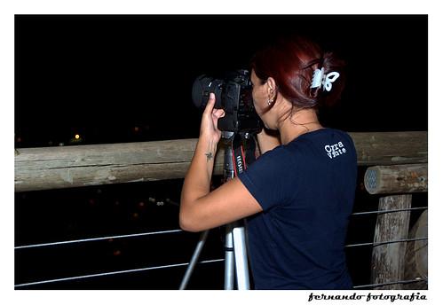 Lise Pereira em ação...