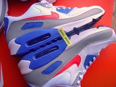 Nike Air Max 90 'White / Sunburst - Dutch Blue - Medium Grey' JD Sports Exclusive (309299 162) ('08). (gooey_wooey) Tags: shoes running sneakers trainers nike retro sunburst kicks 90 airmax jdsports dutchblue