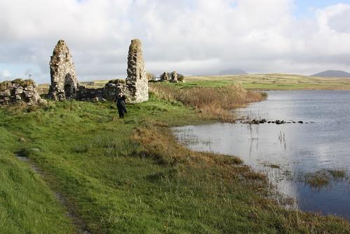 Finlaggan castle - Eilean Mòr by arjayempee