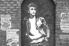Beatles Mural (Paddywac (Marty)) Tags: art liverpool graffiti fuji wallpainting thebeatles seaforth litherland publishedintheliverpoolecho