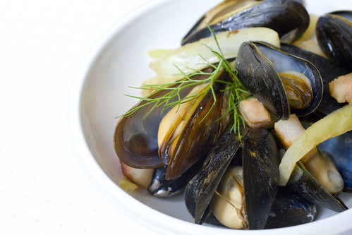 Remy Mussels with Bacon and Fennel  2