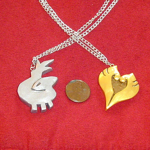 Pokemon Heart Gold and Soul Silver Necklaces