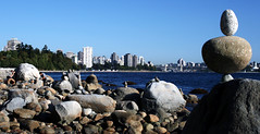 The Towers of Vancouver (Paul 'Tuna' Turner) Tags: ocean park city travel sea vacation urban holiday canada water vancouver downtown cityscape skyscrapers britishcolumbia urbannature pacificnorthwest northamerica englishbay stanleypark citycentre pacificcoast citypark urbanskyline urbanpark