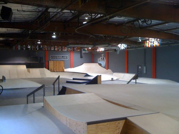 Post Construction Photo of Skatelab