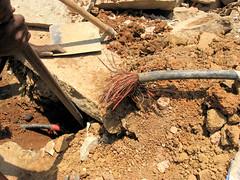 Internet Problems..... (Gypsy's Stuff Shamblady) Tags: india broken view bangalore internet repair karnataka 2009 kabel whitefield brindavan reparatie niketan bengaluru kadugodi internetcable internetkabel