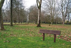 Woodland burial area. This is also the section where cholera victims of the mid 19th century were reinterred. (maggie jones.) Tags: e14 manorpark cityoflondoncemetery grade2listed cityoflondoncemeterymanorpark