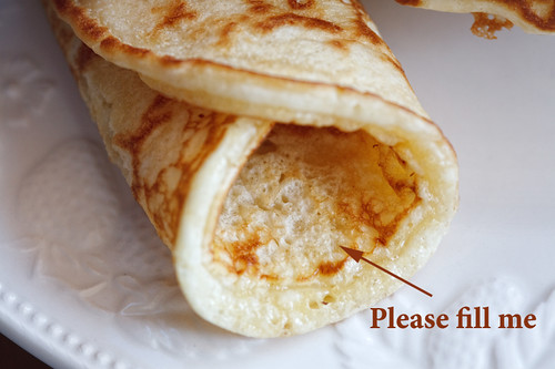 pancake dialogue