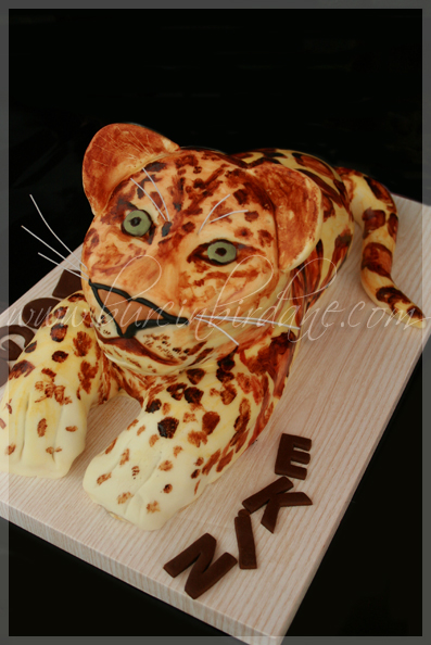 Leopard Cake 1