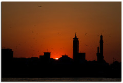 Before Say Good Bye (Sh@dows) Tags: sunset canon landscape photography evening photo dubai shadows uae 7d dubaicreek abbra shdows sarin canon24105f4isl sarinsoman canon7d