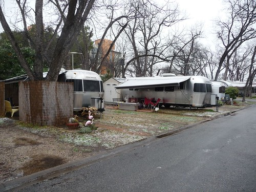 othe airstreams in pecan grove rv park.