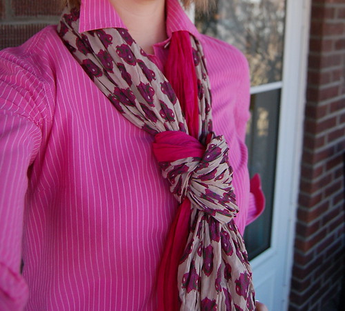 pink pattern on pink pattern!