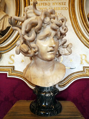 Bust of Medusa (close)