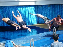 Belly Flop Oasis of the Seas