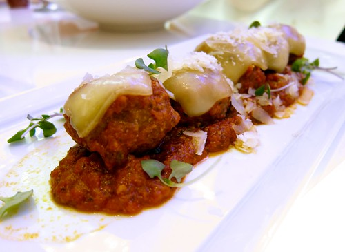 Parmesan Meatballs at JW Marriott, LA Live