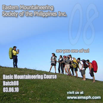 mountaineering course 2010