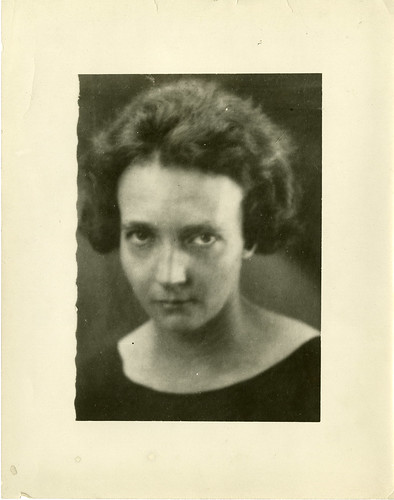 Irène Joliot-Curie (1897-1956), c. 1935, by Science Service, Black-and-white photograph, Smit