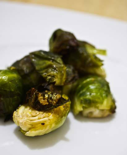 brussels sprouts cooked