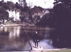 (Hannah Frances) Tags: park lake paris birds magic dream ethereal dreamy chaumont buttes i500 hannahboulton