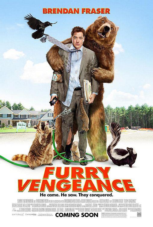 Brendan Fraser Furry Vengeance poster