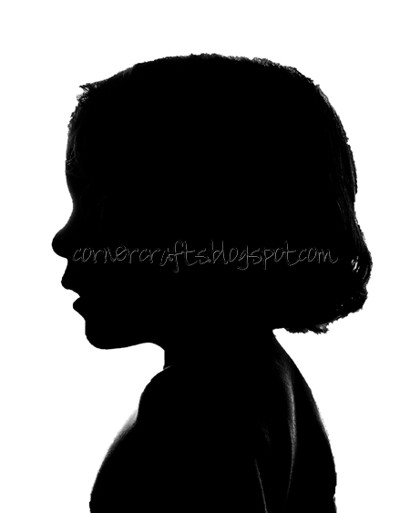 silhouette canvas edited photoshop