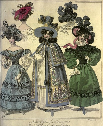 018-The World of fashion and continental feuilletons 1829