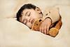 MOHEB (irfan cheema...) Tags: pakistan boy portrait baby texture child shanghai sleep son teddybear moheb irfancheema familygetty2010'
