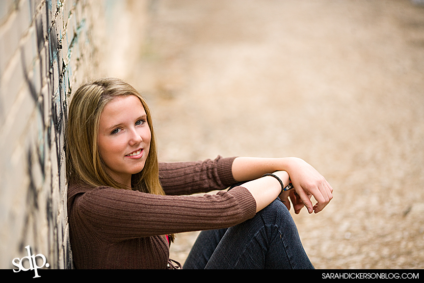 senior shoot Sarah Dickerson