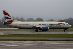 G-GBTA - 25859 - British Airways - Boeing 737-436 - Manchester - 081126 - Steven Gray - IMG_3012