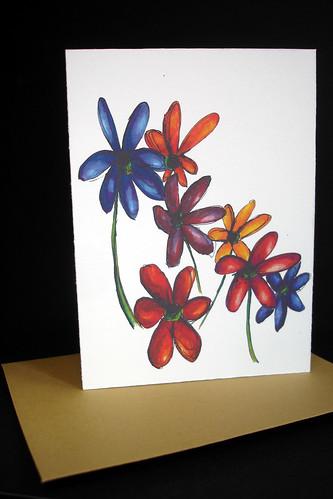 WILDflowers - 05 note card
