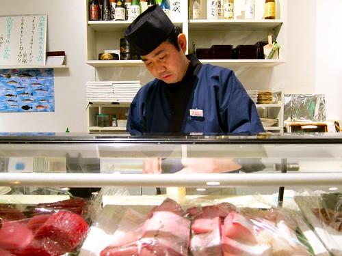 Chef Yasu at Nozomi