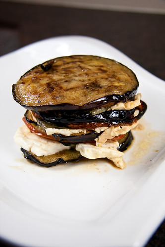 Eggplant, Feta, & Feta Sandwiches