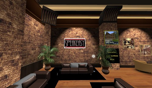 speakeasy in second life