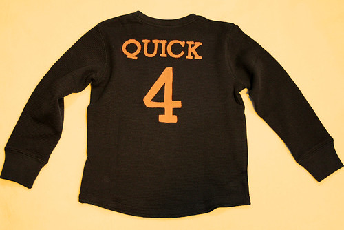 Boys Birthday Sport Shirt Front