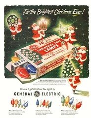 1950 GE Christmas Light Ad (JeffCarter629) Tags: christmas christmaslights vintagechristmas gechristmaslights geadvertisments