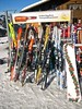 Time for a Bügelbräu... (Rob Verhoeff) Tags: winter ski canon geotagged schweiz switzerland bluesky berneroberland skirack zwitserland lenk simmental ixus55 blauwelucht geo:lat=46440533 geo:lon=7429311 bügelbräu