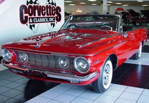 1962 Plymouth Fury Red Cv 087