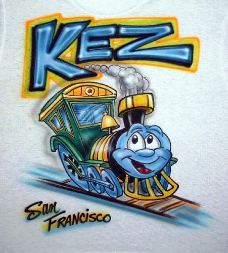Cartoon Train T-shirt 2008