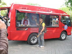 mobile cooking class - demo masak keliling by Akademi Pariwisata - Tristar Tourism Academy