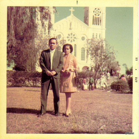Baguio,Mom & Dad, '68