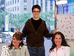 Well worth $10,000 (The Rachel Maddow Show) Tags: lambchop msnbc chrishayes rachelmaddow michelebachmann sarahpalin therachelmaddowshow