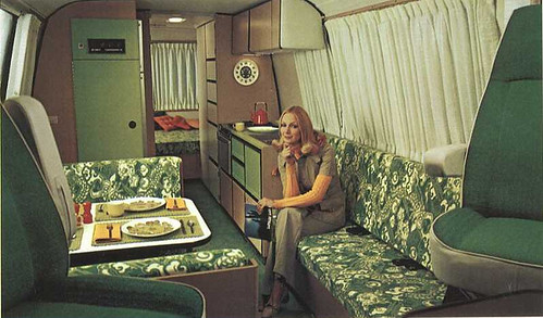 If I Were To Pick One Item Demonstrate 70s Interior Decor Think Itd Be A Motorhome Brochure They Looked Similar Home Decoration