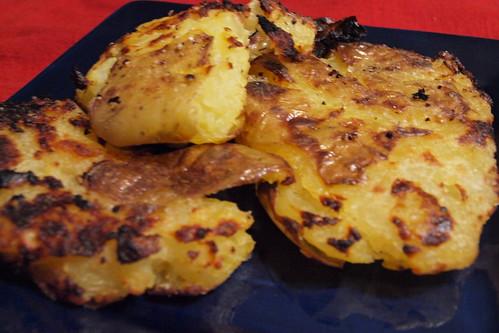 Zen Kitchen: Grilled Smashed Potatoes