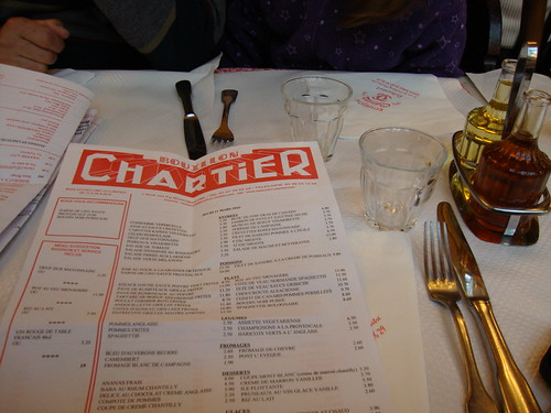 menu chartier restaurant paris